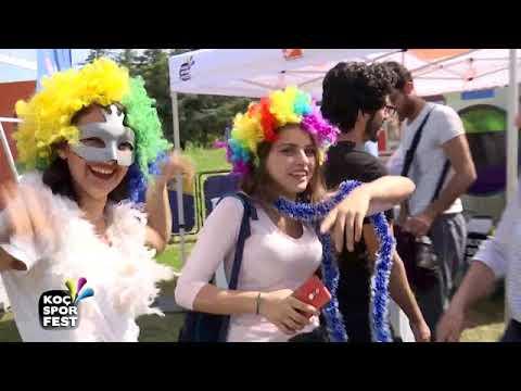 Koç Spor Fest'te ilk gün coşkusu Akdeniz Üniversitesi'nde (видео)