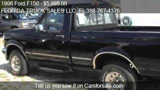 1996 Ford F150 XL Reg. Cab Short Bed 4WD - for sale in PORT