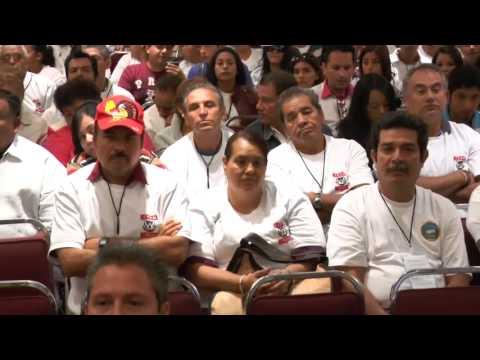 Mtro. Alfonso Navarrete Prida inaugura la LXI Convenci�n Nacional Ordinaria de la CROM