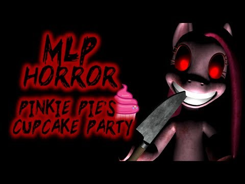 PINKIE PIE'S CUPCAKE PARTY [MY LITTLE PONY HORROR GAME] (SCARY MLP) | Luigikid