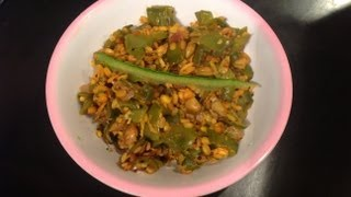 Avarakkai Poriyal Or Broad Beans Curry
