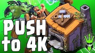 Video BH6 PUSH TO 4K! - Builder Hall Live Pushing - Beta Minions OP! - Clash of Clans MP3, 3GP, MP4, WEBM, AVI, FLV Agustus 2017