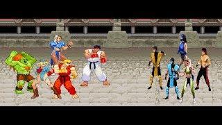 Video Mortal Kombat vs Street Fighter MP3, 3GP, MP4, WEBM, AVI, FLV September 2019