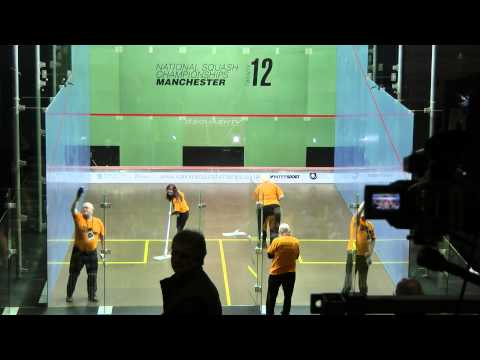 Men's Final National Squash Manchester 12 Feb 2012 pt 1