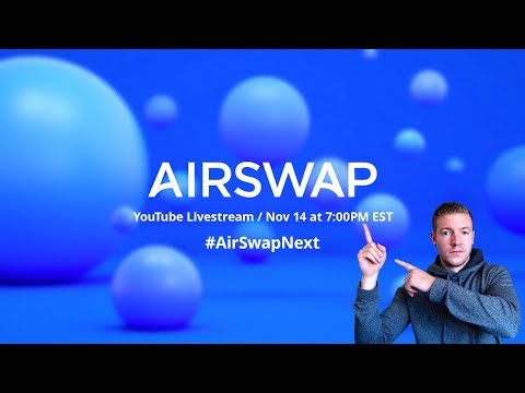 Stablecoins, Security Tokens and Tokenized Real Estate - AirSwap Next video