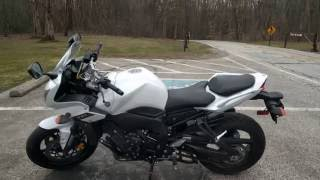 2. My new bike! The Yamaha FZ-1