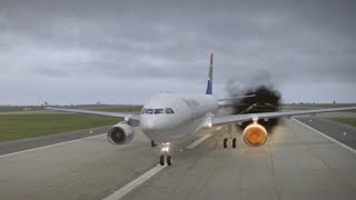 Video CABIN CREW TRAINING: REJECTED TAKE OFF (RTO) / ABORTED TAKE OFF FOLLOWING AN ENGINE FIRE MP3, 3GP, MP4, WEBM, AVI, FLV Januari 2019