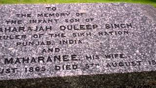 Kenmore United Kingdom  City new picture : Maharaja Duleep Singh Son Gravestone Kenmore Highland Perthshire Scotland