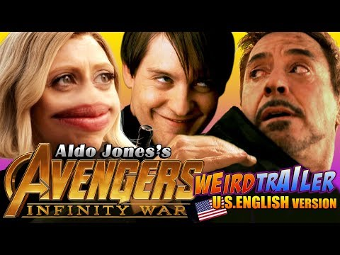 A Hilariously Weird ReEdit of the Trailer for Avengers Infinity