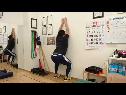 【トレーニング&ボディチェック】可動性を上げるスクワット2種目!