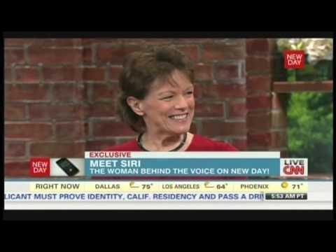 Susan Bennett Interview, the original voice of Siri (October 4, 2013)