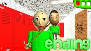 PLAY AS BALDI ENDING! Baldi's Basics in Education and Learning