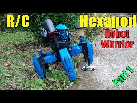 KEYE Toys 9005-1 R/C Hexapod Robot Warrior