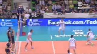 Sassari Italy  City pictures : Volleyball World League Iran-Italy Sassari 2013 ۲۰۱۳ لیگ جهانی والیبال ایران ایتالیا ساس