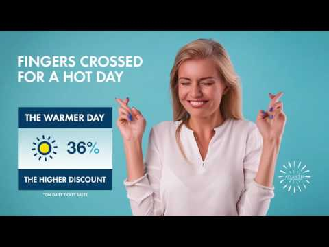 The warmer day, the higher discount