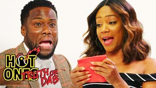 Video Kevin Hart and Tiffany Haddish Play Truth or Dab | Hot Ones MP3, 3GP, MP4, WEBM, AVI, FLV Februari 2019