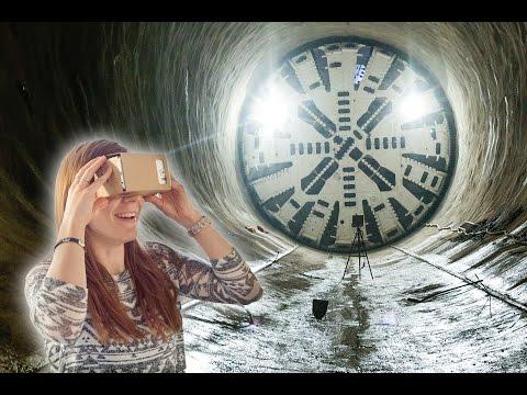 Der Bau des Fildertunnels in virtueller Realität