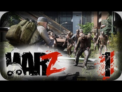 The WarZ – Zombie Survival – Let's Play Part 1