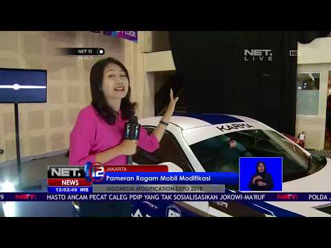 Live Report   Beragam Mobil Modifikasi di Indonesia Modification Expo 2018   NET12