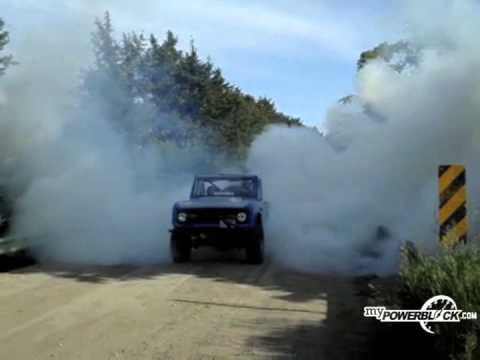 myPowerBlock: 1st Gen. Ford Bronco Burnout