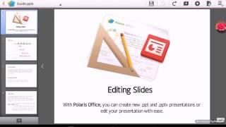 Как сделать на планшете презентацию