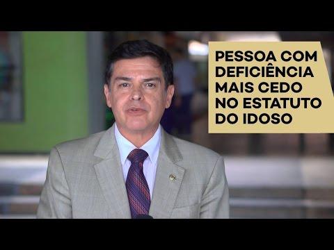 Eduardo Barbosa: pessoa com deficiência no Estatuto do Idoso