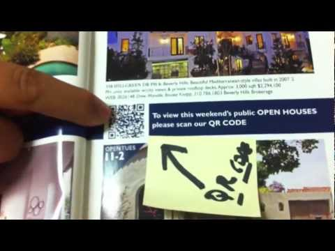 Marketing your home with social media -Real Estate Technology in West Los Angeles – QR code