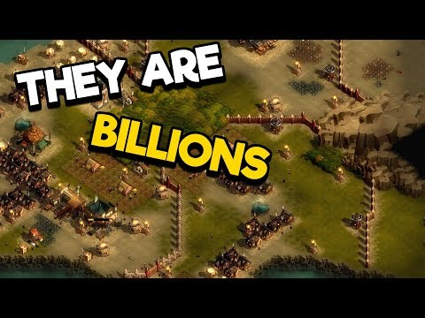 They Are Billions : Peaceful Lowlands #2 - A Beautiful Map
