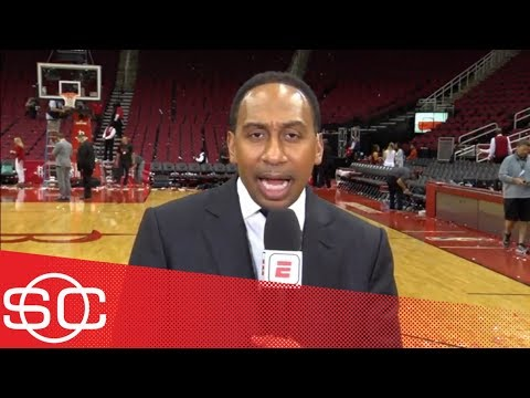 Stephen A: Warriors 'should be worried' after losing big to Rockets in Game 2   SportsCenter   ESPN