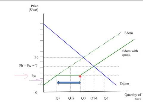 11f: the effects of an import quota