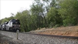Morganton (NC) United States  city pictures gallery : NS Trains In Morganton NC
