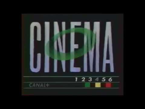 CANAL PLUS Jingle/Générique cinéma (1988)