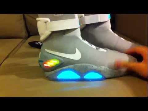 """nike air mag - 2015: le scarpe autoallaccianti di """"ritorno al futuro"""" !"""