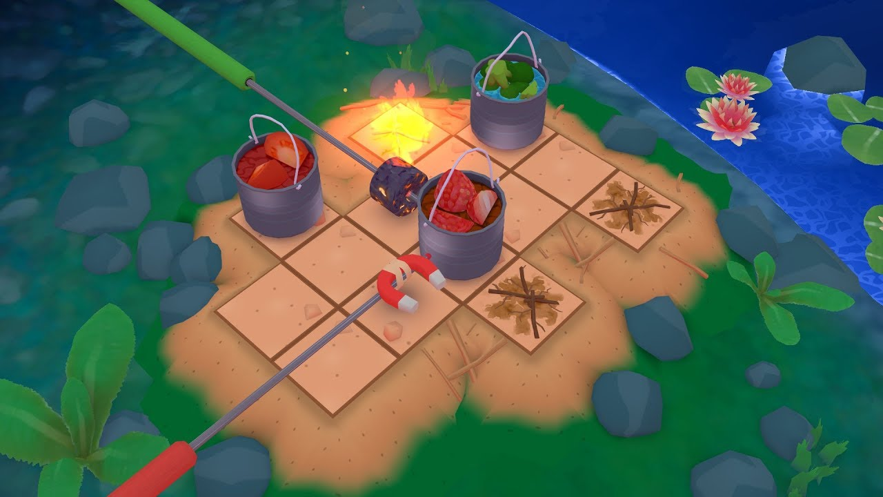 'Campfire Cooking' is the New Logic Puzzler from the Maker of the Excellent 'Puzzlepops!', Coming in October