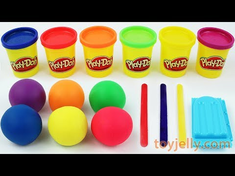 Making 3 Ice Cream Popsicles out of Play Doh Learn Numbers Surprise Toys Surprise Eggs Fun for Kids
