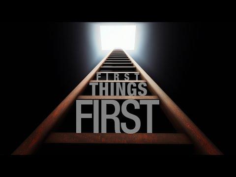 First Things First - Joey Bonifacio