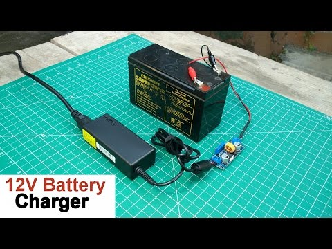 How to Make a 12 Volt Battery Charger