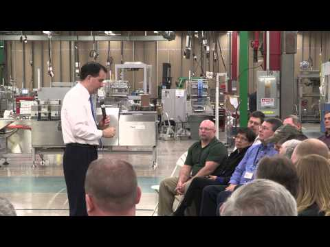 creating jobs - Governor Scott Walker talks budget priorities across the state. The priorities include: Create Jobs, Develop Our Workforce, Transform Education, Reform Gover...