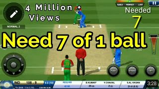 Video Bhuvi saves India!!   Real Cricket 18   MP3, 3GP, MP4, WEBM, AVI, FLV Mei 2018