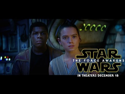 NEW Stars Wars:The Force Awakens Trailer