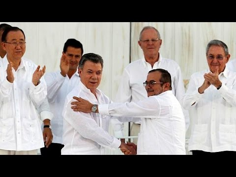 Κολομβία: Ελπίδες για την προώθηση της ειρηνευτικής διαδικασίας γεννά το Νόμπελ