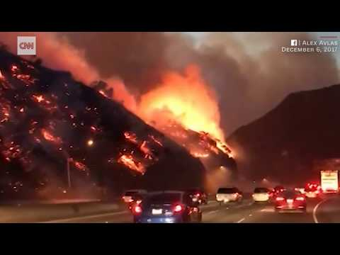 California Wildfires Keep Spreading Forcing Over 200,000 To Flee-Earthquake Update