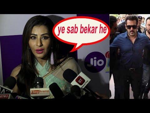 Shilpa shinde on shocking news of Salman khan