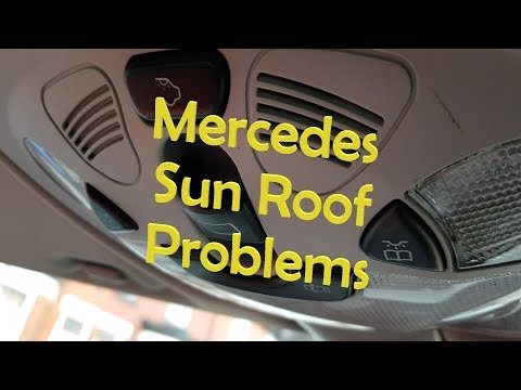 Mercedes Sunroof not working. - Try this FIRST!!