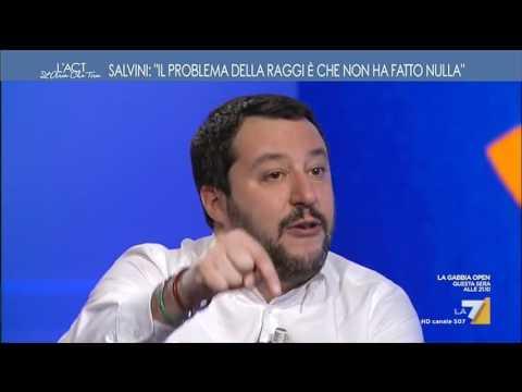 Salvini e i doposci: 'Non pensavo mi inquadrassero'