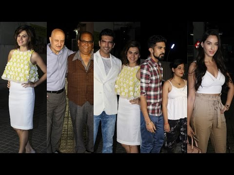 Special Screening Of Film Naam Shabana | Taapsee Pannu |Anupam Kher