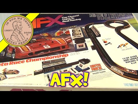 Vintage Aurora AFX Slot Car Data Race Championship Boxed Set - The Closest Thing To Real Racing