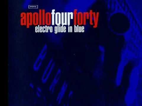 Tekst piosenki Apollo 440 - Electro glide in blue po polsku
