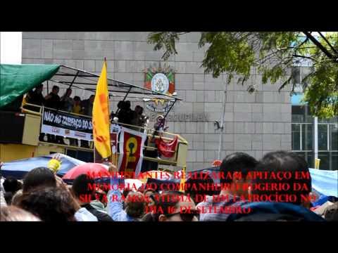 Dia Estadual de Lutas Contra o Tarifaço