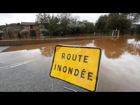 Φονικές πλημμύρες πλήττουν τη νότια Γαλλία